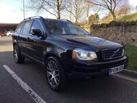 2008 VOLVO XC90 2.4 D5 SE LUXURY AUTOMATIC 4X4 DIESEL 7 SEATS 1 OWNER FSH FULLY LOADED PX