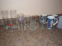 Beer glasses/Christmas mugs