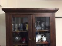 Pure Sheesham Strong Wooden kitchen display cupboard
