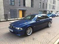 2003 BMW E39 525D M-Sport Shadow Line Edition Topaz Blue Metallic