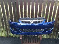 Corsa c Sri bumper with irmscher splitter