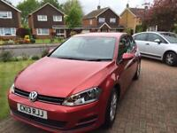 VW golf blue motion 2013 1.6 TDI