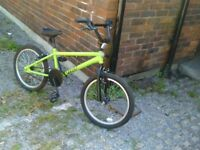 Bmx bicycle for sale clean bike works ok