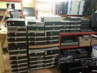 Job Lot for 15.Fuji Esprimo E5710,intel Dual core,80GB HDD,RAM 1GB,Win7.£25 each.With shop receipt