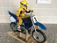Tyco R/C X-Treme Radio Control Motorcycle. GREAT GIFT