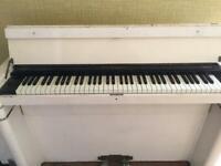 Eavestaff Mini Piano - white