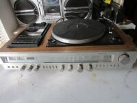 VINTAGE SANYO STEREO MUSIC CENTRE G3003 FULL WORKING ORDER