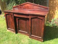 Large Victorian Chiffonier Sideboard