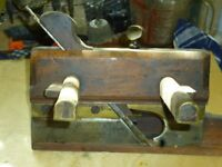 old wooden molding planes