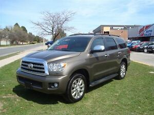 2012 Toyota Sequoia Limited 5.7L V8 ~ 8 PASS. ~ NAVIGATION ~