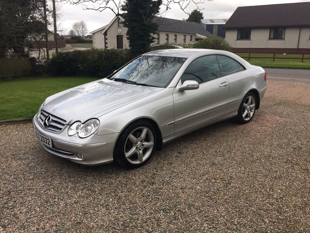 2004 mercedes clk 270 cdi elegance in lisburn road belfast gumtree. Black Bedroom Furniture Sets. Home Design Ideas