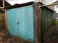 Concrete Panel Garage - Free to dismantle and take away