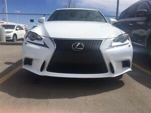 2015 Lexus IS 250 AWD 6A THE F-Sport, Series III,Ultra White,Loa
