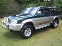 MITSUBISHI L200 TURBO DIESEL 2004 MODEL LOTS OFF HISTORY JUST SERVICED AND CAMBELT