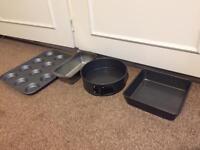 Baking Set Tins Cake Stand Kitchen Scale