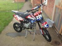 Stomp z2 140 pit bike