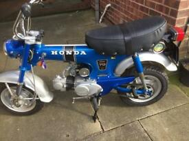 Honda st70 1975 in stunning condition