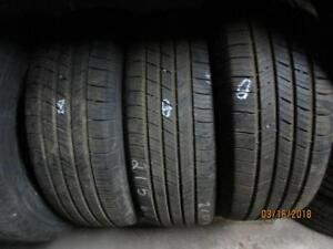 215/60R17 SET OF 2 MATCHING USED MICHELIN A/S TIRES