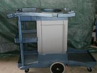Akro-mils Janitorial supply cart