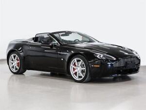 2009 Aston Martin V8 Vantage Roadster Sportshift inspected and r