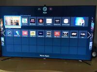 """Samsung UE55F8000ST 55"""" TV Smart 3D Flagship LED Television flat 46"""" 47"""" 50"""" 65"""" skype webcam £699"""