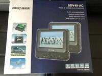 "Nextbase 9"" dual DVD players"
