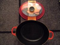 Le Creuset Ribbed Roaster - NEW
