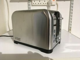 Russell Hobbs Electric Toaster brand new never used in chrome