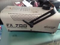 jb systems fx 700 fog machine