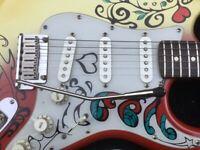 Jimi Hendrix replica Fender Stratocaster