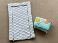 FREE Baby Changing mat and half pack of size 2 Pampers nappies