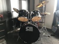 CB drum kit set ( everything included )