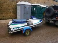 Jet ski & trailer