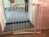 2 Baby stair gates