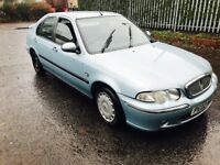2002 02 Rover 45 2.0 turbo Deisel only £325
