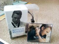 Gorgeous Ronan Keating headphones & signed cd New