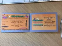 Splendour music festival ticket Nottingham 22nd July 2017
