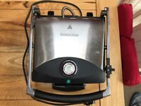 Silvercrest Panini Grill, ideal for panini, meat and fish