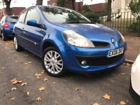RENAULT CLIO DYNAMIQUE 1.4 cc 2006-REG DOUBLE SUN ROOF,LIW MILAGE 68k, FULL SRVICE HISTORY+ CAMBELT