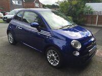 "09 Fiat 500 ""ADIDAS"" special themed. 1.3 multijet diesel Sport. A super, practical little car."