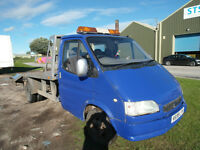 1999 FORD TRANSIT RECOVERY TRUCK