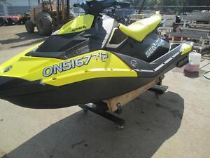 2016 Sea-Doo SPARK 3-UP ROTAX 900 ACE + IBR + CONVENIENCE Cambridge Kitchener Area image 5