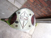 Golf Club. 3 Wood well used, but very lucky