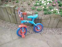 Thomas & Friends Boys Blue Balance Bike