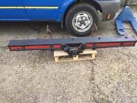 Transit mk 7 heavy duty towbar / bumper