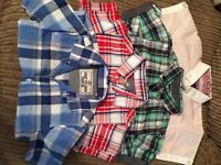 4 boys short sleeve shirts age 2-3 yrs great condition