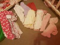 0.3 months girl clothes