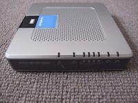 Cisco Linksys wireless / wifi modem router