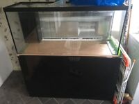 4ft tank with stand