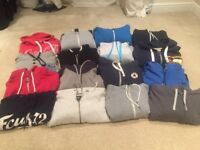 Job lot of men's hoodies/sweatshirts large/Extra large